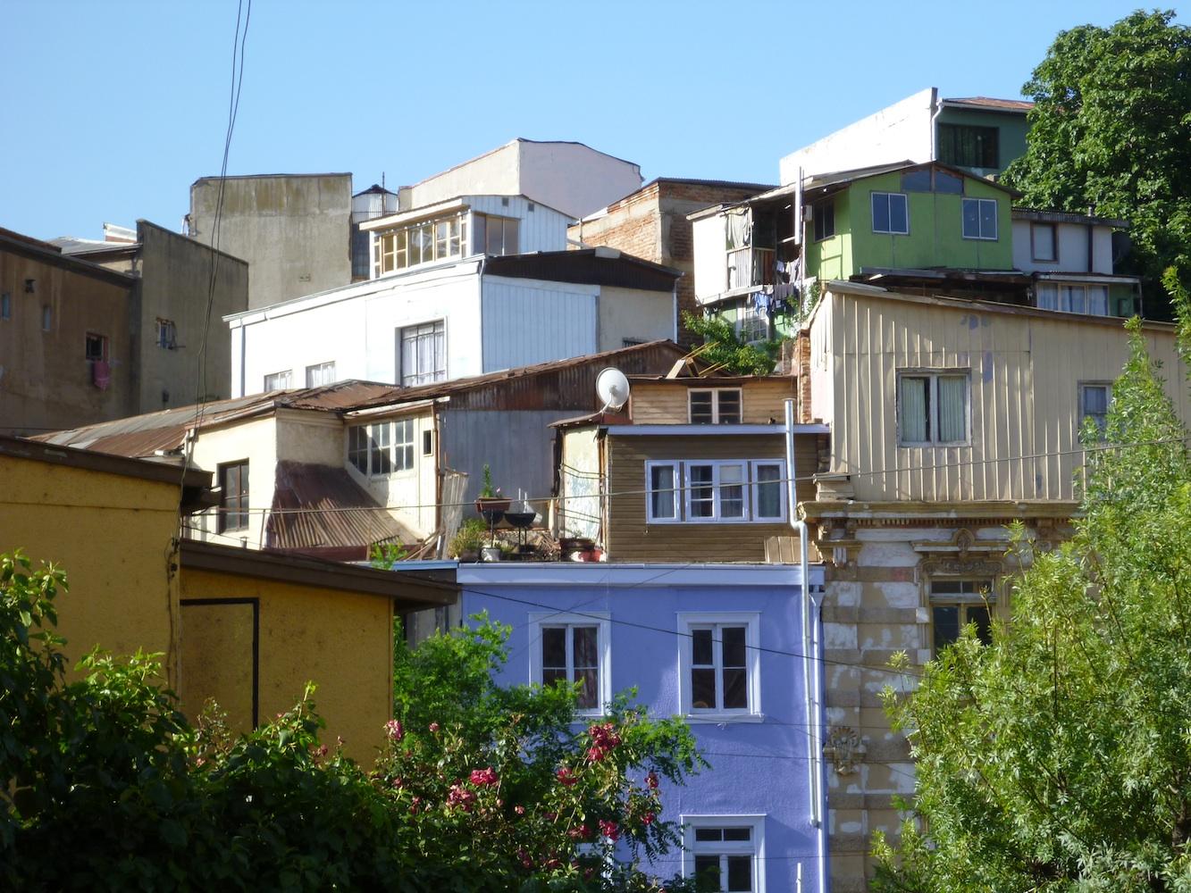 The Sense In Valparaiso Hillside Architecture Tarja