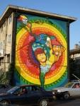 """13th mural, """"Latinoamérica"""" (Latin America) by La Mano (Jano y Basti)"""
