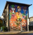 "11th mural ""Tribus Urbanas"" (Urban Tribes) by Saile-Inti-hess."