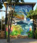 """17th mural """"Flora y Fauna"""" by Pato Albornoz y Nacho"""