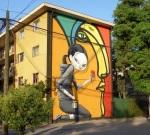 """9th mural """"Integración"""" (Integration) by Alejandro""""Mono"""" Gonzalez y Seth"""