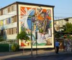 "7th mural ""Escritores Chilenos"" (Chilean Writers) by Gesak"