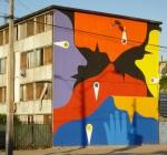 "8th mural ""Amor Universal"" (Universal Love) by Alejandro""Mono"" Gonzalez"
