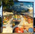 """10th mural """"La Feria"""" (The Market) by Salazarte"""