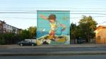 """18th mural """"Juanito San Miguel"""" by Kata-Nuñez+Salazarte-Peña-y Sebastian"""