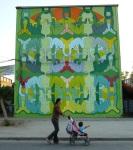 """15th mural """"Interconectados"""" (Interconnected) by Matía Noguera e Invitados"""