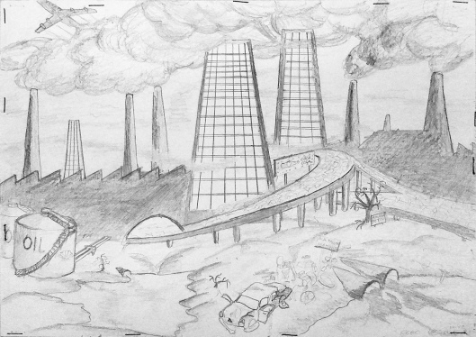 environmental issues drawings - photo #19