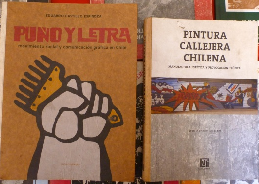 Rare books about political street art