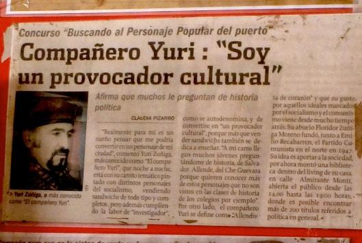 """Comrade Yuri: """"I am a cultural provocator"""""""