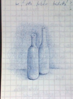 This is a more recent example of my own doodles, made with a ball point pen in 2013.