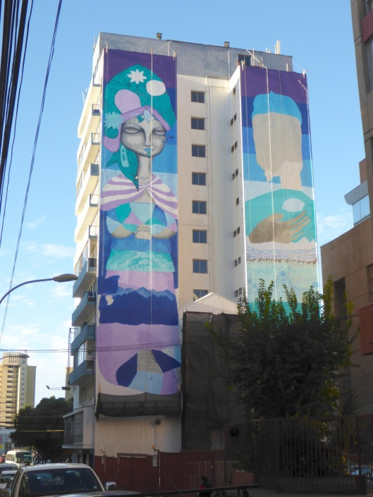 My last look at the mural before leaving Valparaiso