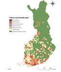 Urban-rural division by SYKE, the Finnish Environment Institute 2014