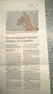Hämeen sanomat 23.11.2017